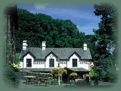 Queens Head ( famous Lakeland pub) 1 mile from the lodge