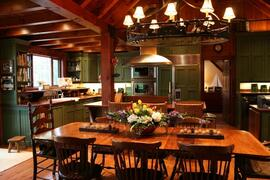 Dining in Cottage