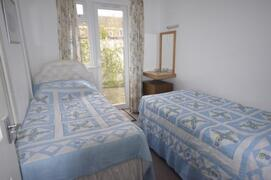 Twin bedded bedroom