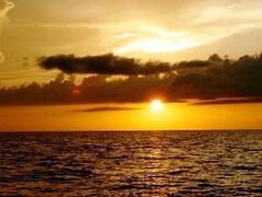 Property Photo: Sunset from Isla Holbox