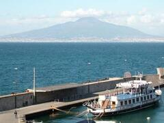 Property Photo: Breath-taking sea view over the Bay of Naples and Vesuvius