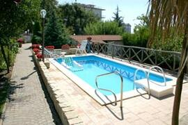 Property Photo: Private swimming pool with hydromassage