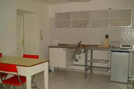Kitchen corner with table