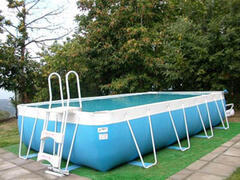 Property Photo: Private external swimming pool