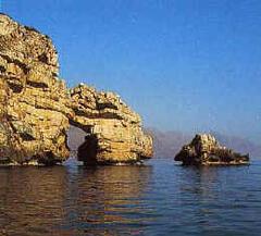 The sea near Castellammare.