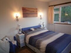Nautical beach style double bedroom