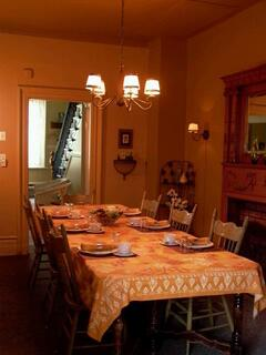 Property Photo: Dining room where breakfast is served everyday