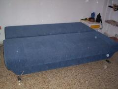 Sofa-bed (open)