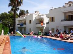 swimming pool area, alcudia