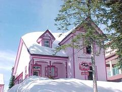 Property Photo: In the Pink in the Snow!