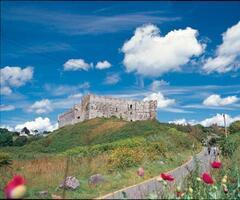 Manorbier Castle (2 miles)