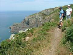 Walking the Coastal Footpath