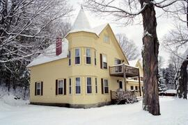 Property Photo: Winter view of house