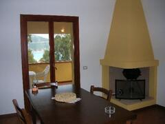 Diningroom sea view cottage