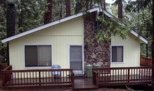 Property Photo: Front of Twain Harte, CA Vacation Rental Cabin