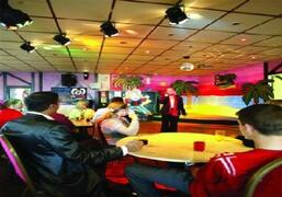Clubhouse and entertainments lounge