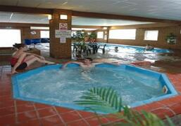 Swimming pool complex, with jaccuzzi, spa, and sauna