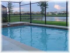 The Pool & Lake View