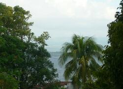Small view of ocean from Terrace