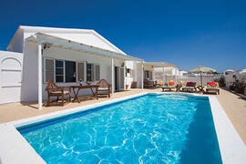 Property Photo: Pool and villa