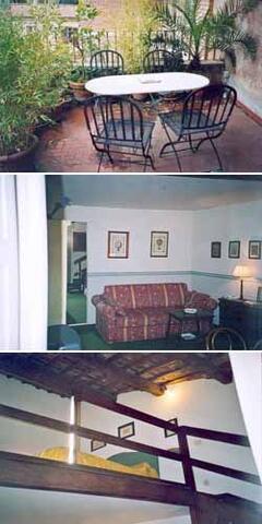 detail of living room