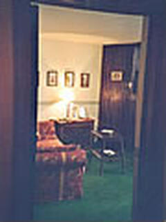 living room seen from entrance