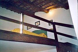 detail of upper floor - bedroom