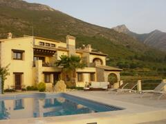 The House from the pool