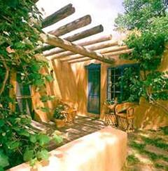 Property Photo: Rabbit - adobe rental house large family vacation santa fe