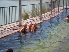 Thermal baths locally