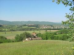landscape near the farm