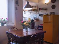 Property Photo: Dining room and kitchenette