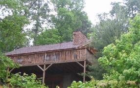Property Photo: Cabin in the Woods