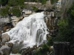 Just one of the 7 waterfalls in the area