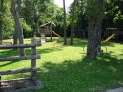 Playground for the smaller children