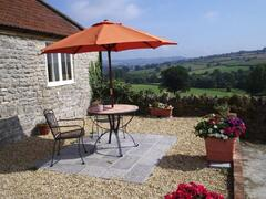 Property Photo: Stable Cottage patio
