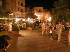 popular restaurants in porticello 1,5 km from the villa