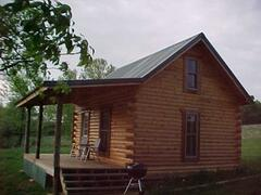 Property Photo: Smaller Log cabin