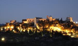 Property Photo: El Castillo at night