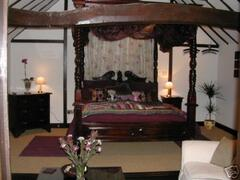 Property Photo: Four poster mahogony bed
