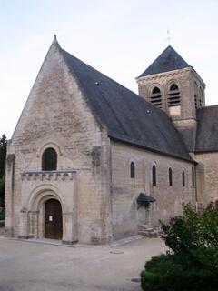 the church of Rochecorbon