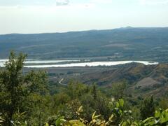 view on lake Alviano