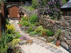 Arosfa garden