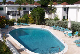 Shared inviting swimming pool