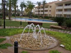 Property Photo: Pool Fountain