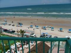 Oceanfront View from the Balcony of Condo 601