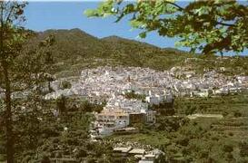 Property Photo: view from hills to Competa