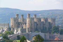 13th Century Conwy Castle