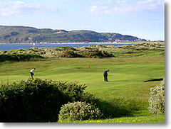 Conwy Golf Club - over the road