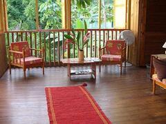 Castara Cottage - lounge area